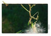 Monarch Caterpillars On Milkweed Carry-all Pouch