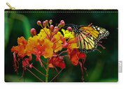 Monarch On Pride Of Barbados Carry-all Pouch