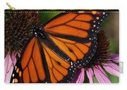 Monarch On Purple Coneflower Carry-all Pouch