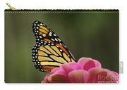 Monarch On Zinnia Carry-all Pouch