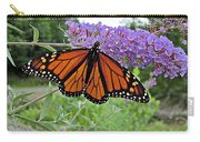 Monarch Under Flowers Carry-all Pouch
