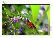 Monarch With Sweet Nectar Carry-all Pouch