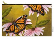 Monarchs And Coneflower Carry-all Pouch