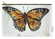 Monarchs - Butterfly Carry-all Pouch