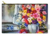 Monet Floral Edged Carry-all Pouch
