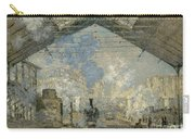 Monet Gare St Lazare 1877 Carry-all Pouch