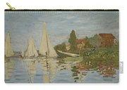 Monet Regattas At Argenteuil 1872 Carry-all Pouch