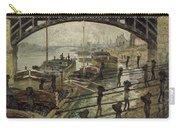 Monet The Coalmen 1875 Carry-all Pouch