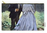 Monet's Bazille And Camille Carry-all Pouch