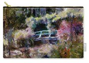 Monet's Bridge In Autumn Carry-all Pouch