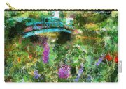 Monet's Bridge In Spring Carry-all Pouch
