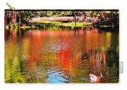 Monet's Garden In Hawaii 2 Carry-all Pouch