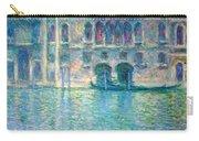 Monet's Palazzo De Mula In Venice Carry-all Pouch