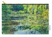 Monet's Water Lily Garden Carry-all Pouch