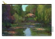Monet's Water Lily Pond Carry-all Pouch