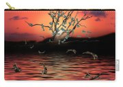 Money Tree Sunset Carry-all Pouch