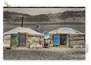 Mongolian Yurts Carry-all Pouch