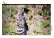 Mongoose Standing. Safari In Serengeti Carry-all Pouch