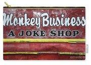 Monkey Business A Joke Shop Carry-all Pouch