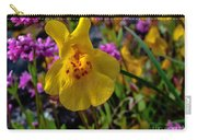 Monkey Flower Carry-all Pouch