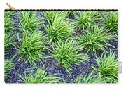 Monkey Grass Abstract Carry-all Pouch