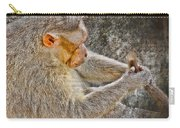 Monkey Playing With Tail Carry-all Pouch