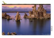 Mono Lake Afterglow Carry-all Pouch by Inge Johnsson