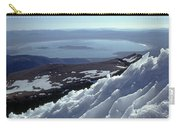 Mo-186-mono Lake From Mt. Dana In Winter  Carry-all Pouch