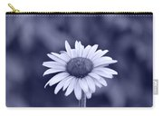 Monochrome Aster Carry-all Pouch