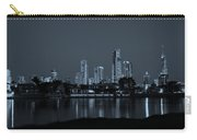 Monochrome Cityscape Carry-all Pouch