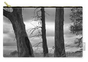 Monochrome Trees Carry-all Pouch