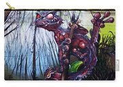 Monster With Flag Carry-all Pouch