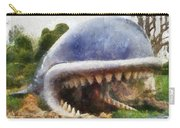Monstro The Whale At Disneyland All Teeth Photo Art Carry-all Pouch
