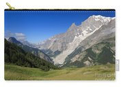 mont Blanc from Ferret valley Carry-all Pouch