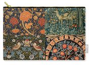 Montage Of Morris Designs Carry-all Pouch