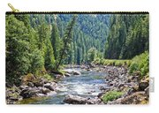 Montana River And Trees Carry-all Pouch
