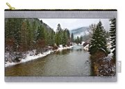 Montana Winter Frame Carry-all Pouch