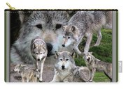 Montana Wolf Pack Carry-all Pouch