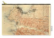 Monterey And Carmel Valley  Monterey Peninsula California  1912 Carry-all Pouch