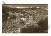 Aerial Of Monterey And Pacific Grove  California Oct. 25 1934 Carry-all Pouch