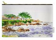 Monterey- California Sketchbook Project Carry-all Pouch by Irina Sztukowski