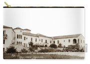 Monterey  Hospital At 576 Hartnell Street Circa 1939 Carry-all Pouch