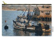 Monterey Fish Company Abstract Carry-all Pouch