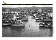 Monterey Harbor Full Of Purse-seiner Fishing Boats California 1945 Carry-all Pouch