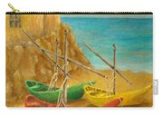 Monterosso On Riviera Di Levante Carry-all Pouch