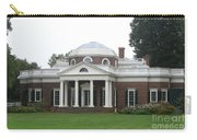 Monticello - Thomas Jeffersons Home Carry-all Pouch