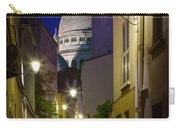 Montmartre Street And Sacre Coeur Carry-all Pouch