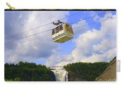 Montmorency Falls And Gondola Carry-all Pouch