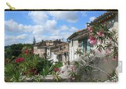 French Hilltop Terraces Carry-all Pouch by France  Art