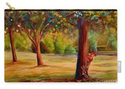 Montreal Westmount Park Urban Scene Carry-all Pouch